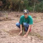Plantio de mudas - Abril de 2009 (2)